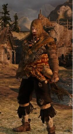 Tattered Cloth Set Male (DaS2)