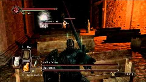 Dark Souls 2 - Prowling Magus and Congregation (Melee) Benhart of Jugo Summon