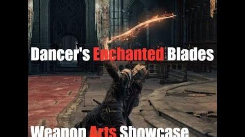 Dark Souls 3 Dancer's Enchanted Swords - Weapon Arts Showcase