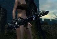 Crystal straight sword