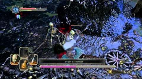 Dark Souls 2 Beta Stress Test Part 8 Boss Fight Skeletons Lords Solo