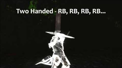 Dark Souls 2 Red Iron Twinblade Tutorial (dual wielding w power stance)