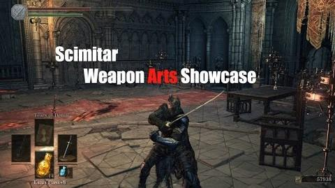 Weapon Arts Showcase Scimitar