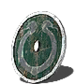 Caduceus round shield