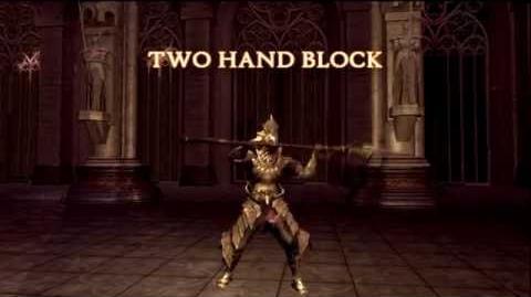 Dark Souls Weapon Showcase Dragonslayer Spear
