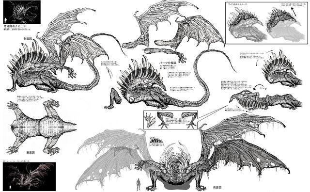 File:Gaping Dragon Concept Art.jpg