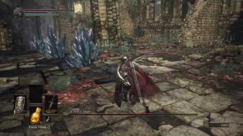 DARK SOULS III Crystal Sage boss fight