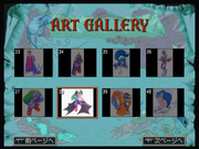 Darkstalkers Collection Art Gallery Screen
