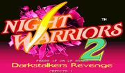 DarkStalkers Hack Title Screen