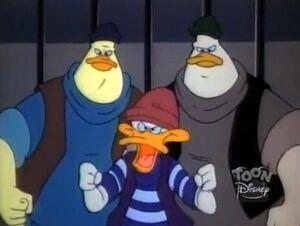 Lets Get Respectable - mugger gang