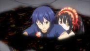 Kurumi helps Shido escape