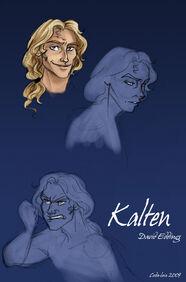 Kalten from Elenium by coda leia