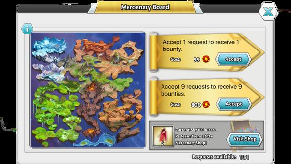 Mercenary board