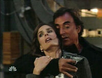 Andre takes Hope hostage