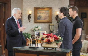 Victor talks with Brady & Sonny