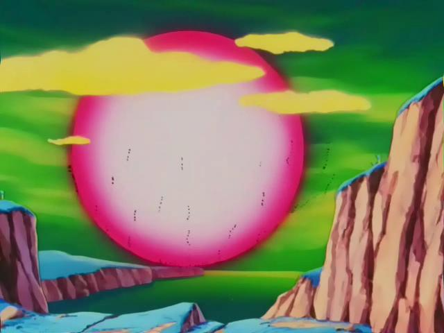Dragon Ball z Frieza Death Frieza's Death Ball on Namek