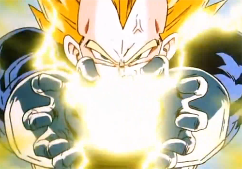 Dragon Ball z Vegeta Final Flash Final Flash Super Vegeta