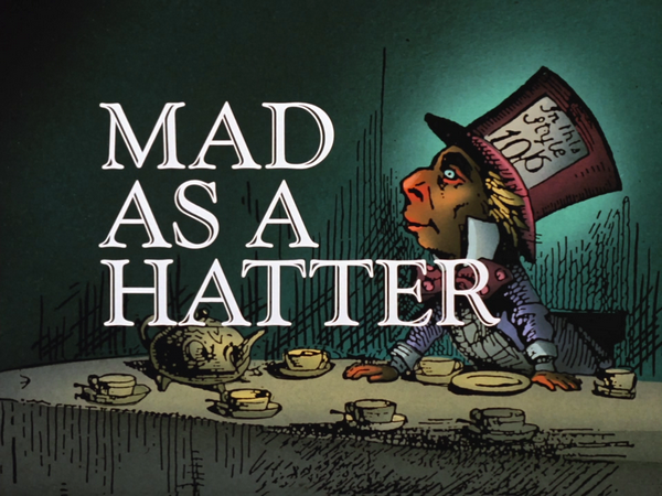 Image result for batman the animated series mad as a hatter