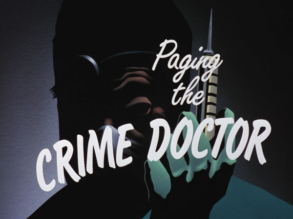 Image result for batman the animated series paging the crime doctor
