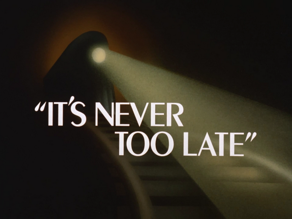 Image result for it's never too late batman