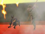 Stalker saves Batman