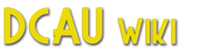 DC Animated Universe Wiki wordmark