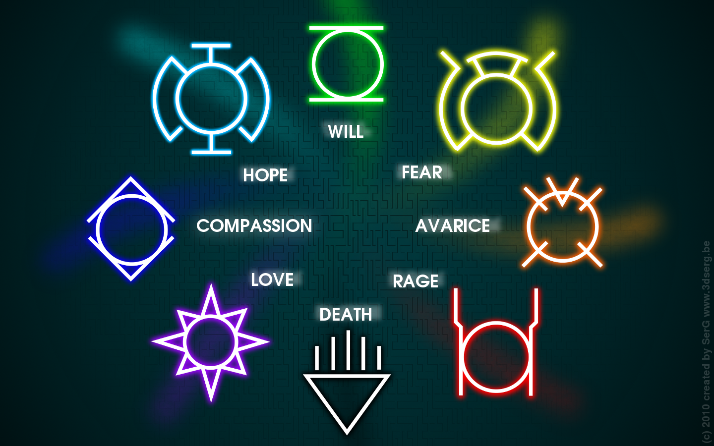 Rainbow lantern corps | DC Fanon Wiki | FANDOM powered by ...