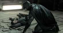 Batman saves Martha