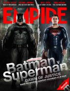 Empire - Batman v Superman Dawn of Justice September 2015 variant cover - Batman and Superman