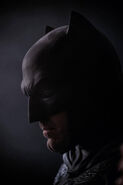 Ben Affleck as Batman first look