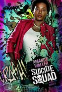 Amanda Waller comic character poster