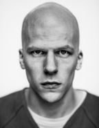 Lex Luthor grayscale promo