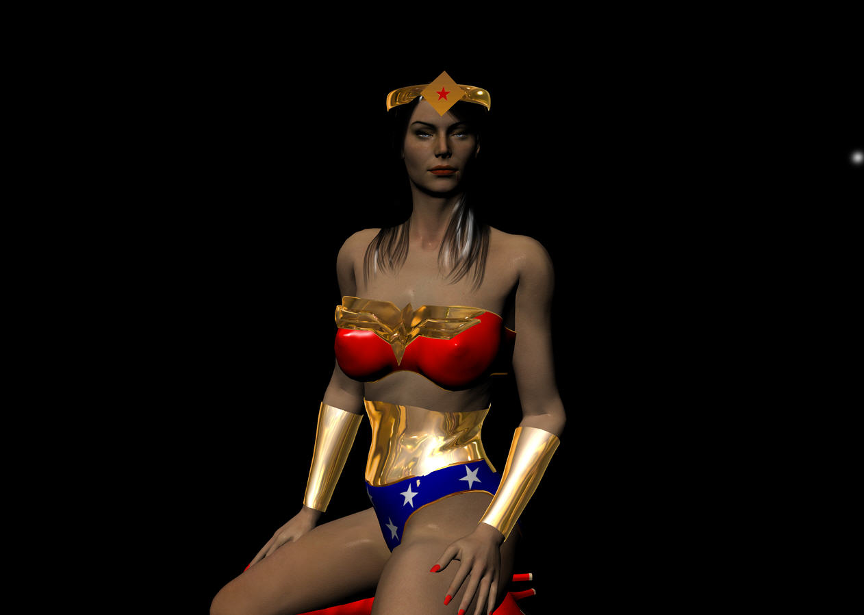 erotica wonder woman fiction