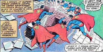 Superman superspeed