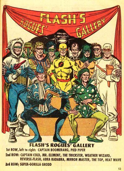 Galeria de vilões do flash