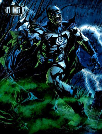 Black Lantern Batman 01
