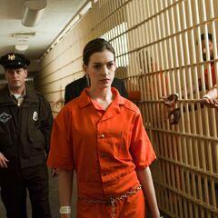 Selina Kyle in prison.
