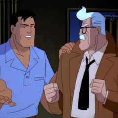 Bruce Wayne and James Gordon