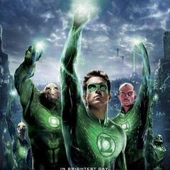 Green Lantern Corps poster