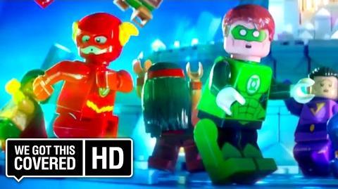 "The LEGO Batman Movie ""Vastly Superior"" TV Spot HD Zach Galifianakis, Will Arnett"