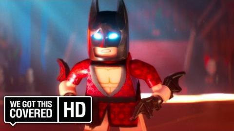 "The LEGO Batman Movie ""Snake Clowns"" Clip HD Will Arnett, Michael Cera, Rosario Dawson"