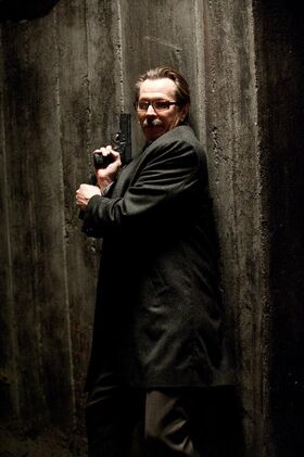 Commissioner Gordon TDKR