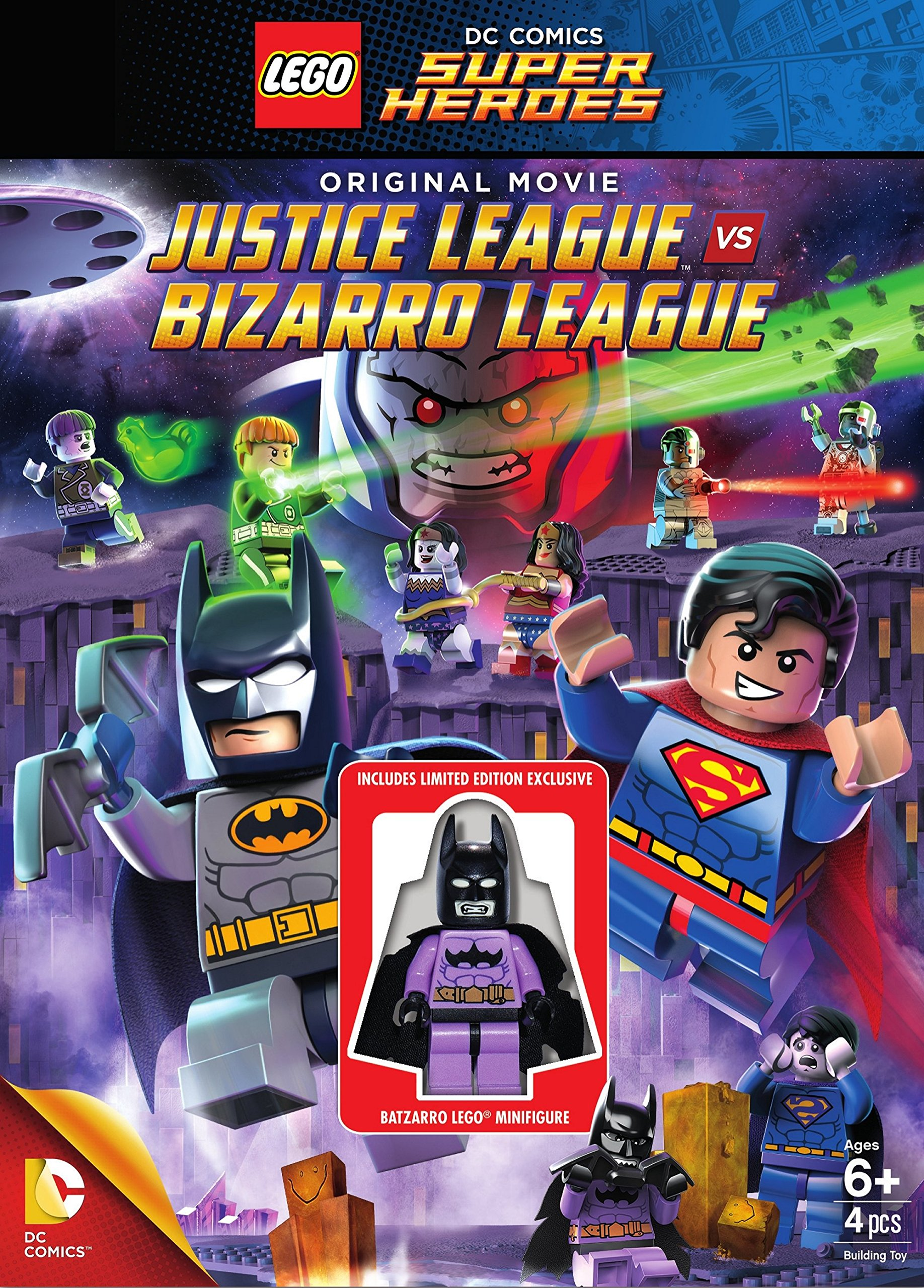 LEGO DC Comics Super Heroes Justice League vs. Bizarro League (2014).avi AC3 DVDRip -ITA