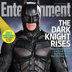 On the cover of Entertainment Weekly.