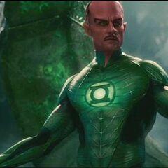 Sinestro on Oa.