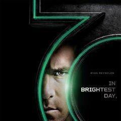 Poster featuring Ryan Reynolds as Hal Jordan.