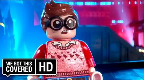 "The LEGO Batman Movie ""Robin Impresses"" Clip HD Rosario Dawson, Ralph Fiennes, Will Arnett"