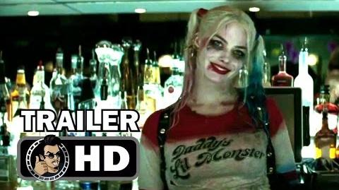 SUICIDE SQUAD UK Extended Cut Trailer (2016) Jared Leto, Margot Robbie DC Superhero Movie HD