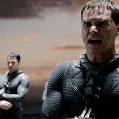 Zod with his accomplices, before exile.