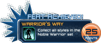Feat - Warrior's Way